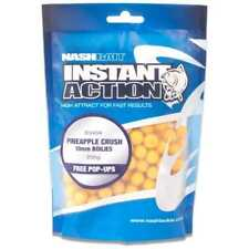 Nash Bait Instant Action Boilies All Flavours & Sizes 1kg Bag 15mm Pineapple Crush