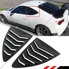 Fit 2013-17 FR-S FRS 86 BRZ ABS 1/4 Quarter Panel Side Vent Window Louver Covers