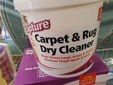 1 New - Capture carpet and rug dry cleaner - 4 pound super size