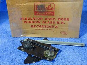 1953-1954 Ford Mercury 2 Door & Convertible Door Window Regulator Assembly NOS