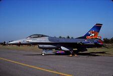 Original colour slide F-16A Fighting Falcon spcl.J-004 of 313 Sqdn. KLu