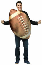 Get Real Football Sports Adult Costume One Piece Tunic Halloween Rasta Imposta