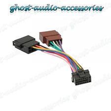ALPINE 16 PIN ISO Cablaggio Connettore Adattatore Stereo Auto Radio GUAINA