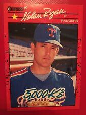 1990 Donruss Nolan Ryan Texas Rangers #659 Baseball Card 5000 K's