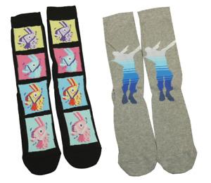 Mens Ladies Character Fortnite Socks, Fun Gamer socks, UK 8-11, Fathers day Gift