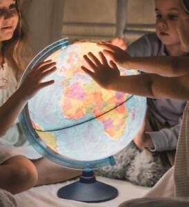 Cable-Free Illuminated World Globe LED Light Up Lamp Globe  Dia 32CM 25CM 21CM
