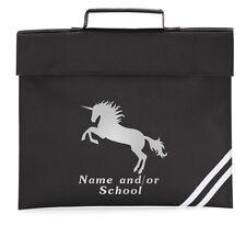 Personalizado Unicornio Mochila Escuela PRIMARIO Guardería Estampado Nombre