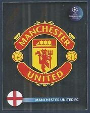 PANINI UEFA CHAMPIONS LEAGUE 2008-09- #009-MANCHESTER UNITED TEAM BADGE-FOIL