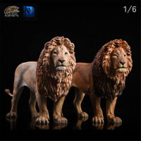 JXK 1/6 Lion Figure Panthera leo King Animal Model Collector GK Toy Decoration