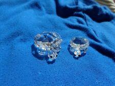 New Listing Swarovski Crystal Turtle Figurines Large & Small