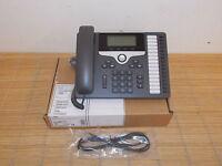 NEU Cisco CP-7861-K9 7861 VoIP sixteen lines IP Telefon Phone NEW OPEN BOX