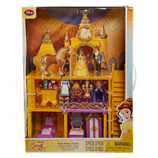 Disney Beauty And The Beast Deluxe Castle Playset Disney RARE NIB