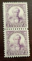 US Stamps Collection Scott # 725 - 3 Cent - Pair - MH OG