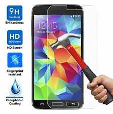 2X Tempered Glass Screen Protector Film for Samsung Galaxy S5 G900V G900A G900P