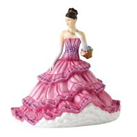 Royal Doulton Pretty Ladies Emily HN 5814 Figurine New Hand Signed by Doulton