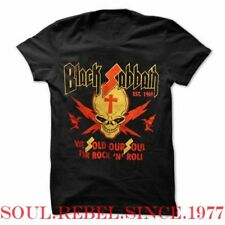 BLACK SABBATH WE SOLD OUR SOUL FOR ROCK AND ROLL T SHIRT MEN'S SIZES