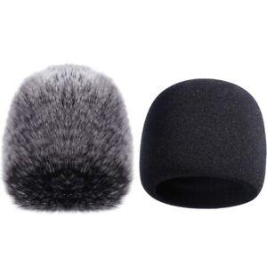 2X(Mic Cover Sponge Microphone Windscreen per Blue Yeti, Yeti Pro Microfono Z4W8