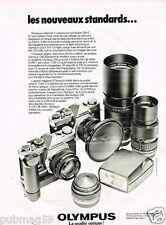 Publicité advertising 1979 Les Appareils photo Olympus OM