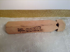 All Wood Kid's Train Whistle Made in USA