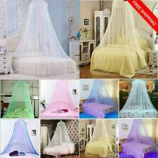 Boys Girls Cotton Bed Canopy Bed Cover Mosquito Net Curtain Bedding Dome Tent NE