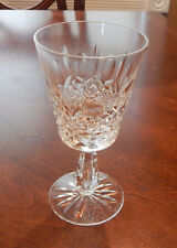"""WATERFORD CRYSTAL KENMARE PATTERN WATER GOBLET (S) 6 3/4"""" SIGNED EXCELLENT"""