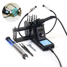 60w Hot Air Gun Led Digital Display Solder Iron Welding Rework Station