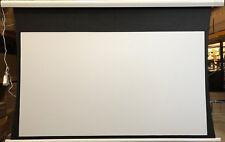 "B-Grade Tab Tensioned screen - 110"" Matte White TT 16:9"