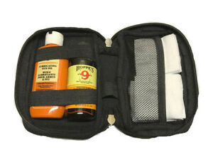 Hoppes Gun Bore Cleaner and Lubricating Oil with 40-50 Patches and Neoprene Case