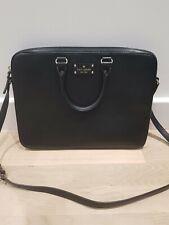 Kate Spade Laptop Bag Black Leather