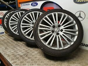 "VW GOLF GTI R32 SET OF ALLOY WHEELS ALLOYS ZOLDER 18"" GENUINE 5X112 225 40 18"