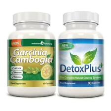 Garcinia Cambogia Detox Cleanse Combo 1000mg 1 Month Supply Evolution Slimming