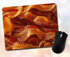 Food ~ Bacon Slices, Gift, Decor, Desk Accessory ~ Vivid Mouse Pad