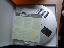 "MAXELL  35-180B XL1 BACK COATED 10.5"" metal reel with tape NEW"