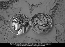 Percy Jackson Fans,Greek Gods Collection,#13S, TANIT/PEGASUS,Goddess/Carthage