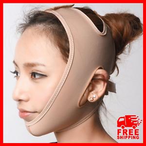 Faja de Compresión Para Adelgazar La Cara Reduce La Papada Face Banda Completa ✅