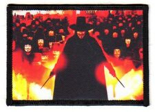 """Per vendetta mascheraq 1 """"RICAMATE"""" Patch Guy Fawkes"""