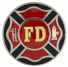 Firefighter's Cross - Metal Trailer Hitch Cover (TH005) - NEW!