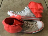 Converse All Star Chuck Taylor Size 6 US Girls Pink Lace Block Party Sneakers