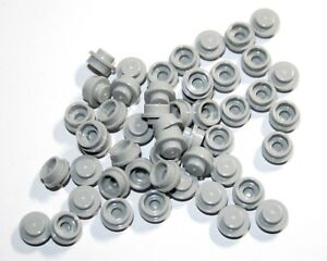 50x LEGO® Platte 1x1 rund 4073 NEU hellgrau light bluish Gray