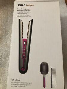 Dyson Corrale Hair Straightener - HS03 Fuschia/black - Limited Gift Edition