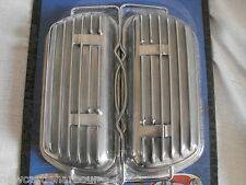 VW BEETLE / CAMPER ALUMINIUM ROCKER COVERS AND FITTINGS CLIP ON - T1 T2 BUG BUS