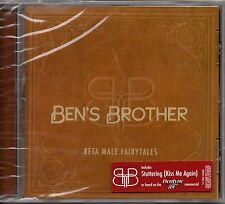 "BEN'S BROTHER ""META MALE FAIRYTALES"" CD 2007 relentless virgin sealed a"