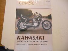 NOS Clymer Service Manual Kawasaki 1985-2006 VN700 Vulcan Vulcan 750