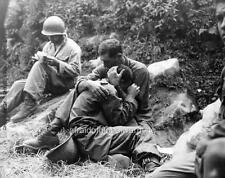 Photo.  1950.  Korean War.  American Soldier After Friend Killed