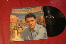 """ELVIS PRESLEY - """"ROUSTABOUT"""" LP, RCA LPM 2999, 1965 PRESS, VG+"""