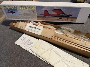 "SIG NIB Kadet Senior 78"" Span Great Trainer Older Model Plane"