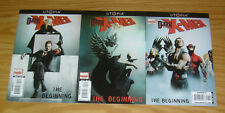 Dark X-Men: the Beginning #1-3 VF/NM complete series - paul cornell - wolverine