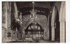 CHILDRENS ALTAR, CHISWICK PARISH CHURCH: London postcard (C11211)