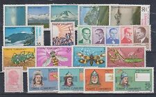 TURKEY 1981-1982-1984, 6 SERIES, ATATURK, MOUNTAINS, INSECTS, ISFILA CV $22, MNH