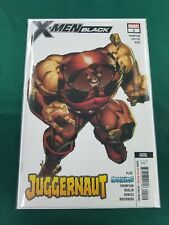 X-men Black Juggernaut #1 Marvel Comic Apocalypse 2nd Print 2018 unread NM
